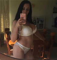 I am wet all the time but I am looking for the right man to have  with again. I have good boobs and a good body. I like to be nasty and to have a lot of sex. To fuck hard and to tasty warm cum in my mouth. Excited to try new things and to feel tension with someone new again.